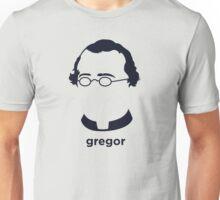 Gregor Mendel (Hirsute History) Unisex T-Shirt