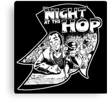 Night At The Hop  Canvas Print