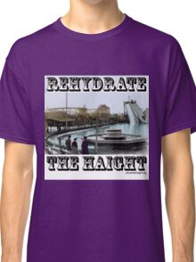Rehydrate Haight Colorized Old-Timey Logo Classic T-Shirt