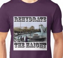 Rehydrate Haight Colorized Old-Timey Logo Unisex T-Shirt