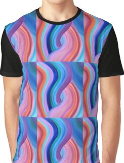 Cosmic Dance Energy Painting  Graphic T-Shirt
