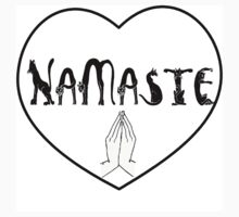 Namaste -cat by Hope Bruns