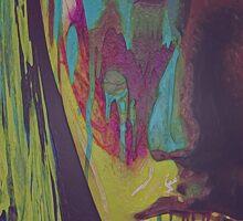 Judgement Figurative Abstract Portrait Sticker