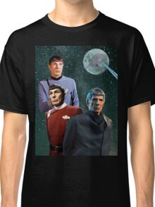 Three Spock Moon Classic T-Shirt