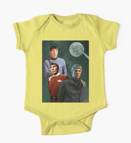 Three Spock Moon One Piece - Short Sleeve