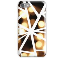 Abstract Geometric Fairy Lights Collage iPhone Case/Skin