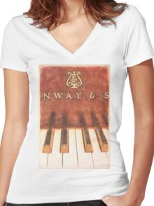NWAY & S Women's Fitted V-Neck T-Shirt