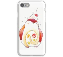 penguin fruit roll. iPhone Case/Skin