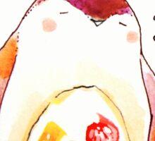 penguin fruit roll. Sticker