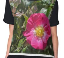 Just one rose Chiffon Top