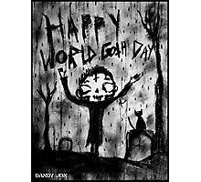 Death Boy: World Goth Day Photographic Print
