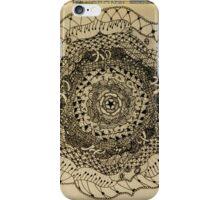 Free Draw Mandala iPhone Case/Skin
