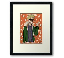 Chris Print Framed Print