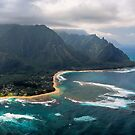 Tunnels Beach - Kauai by Michael Treloar
