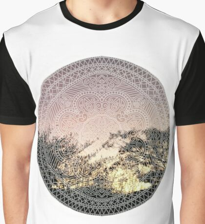 sunset design Graphic T-Shirt