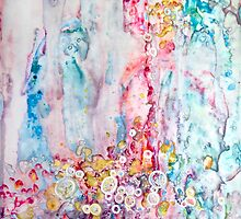 Waterfall by Jenny Cairns