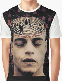Mr robot who am i Graphic T-Shirt