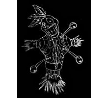 Voodoo doll Photographic Print