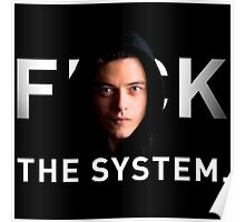 Fuck the system Poster