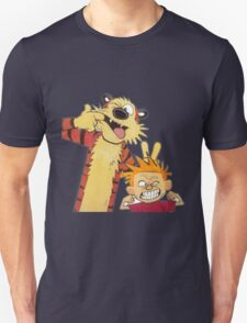 calvin and hobbes mocking Unisex T-Shirt
