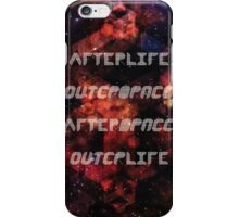 Afterlife/Outerspace FEZ Poster iPhone Case/Skin