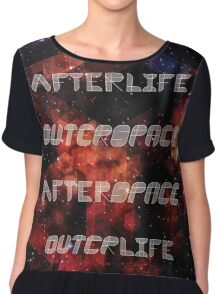 Afterlife/Outerspace FEZ Poster Chiffon Top