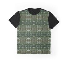 Flower Stem Pattern Graphic T-Shirt