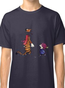 calvin and hobbes talk and walk Classic T-Shirt