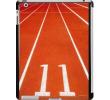 Running track number 11 iPad Case/Skin