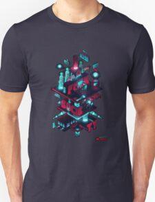 Mr robot diagram Unisex T-Shirt