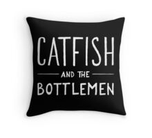 Catfish and the Bottlemen Logo Throw Pillow