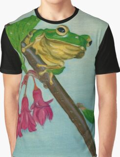 a peaceful frog Graphic T-Shirt