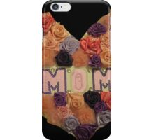 Mom's Heart of Roses iPhone Case/Skin