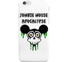 Zombie Mouse Apocalypse iPhone Case/Skin