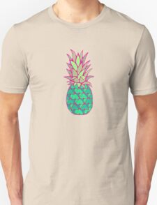 Colorful Pineapple Unisex T-Shirt