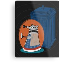 Daleks in Disguise - Tenth Doctor Metal Print