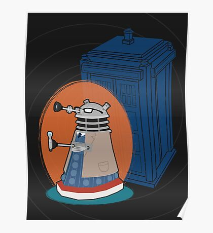 Daleks in Disguise - Tenth Doctor Poster