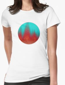 Fire Part 2 Womens Fitted T-Shirt