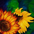 Sunflowers by Angelica Farber