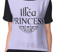 illea princess Chiffon Top