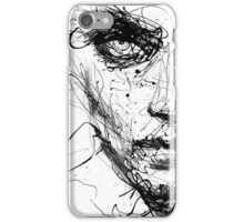 Look into my eyes iPhone Case/Skin