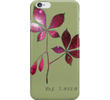 Botany 4 iPhone Case/Skin