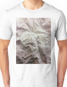 """""""crumpled paper"""" iPhoneography Unisex T-Shirt"""