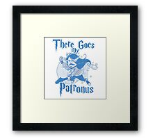 There Goes My Patronus Framed Print