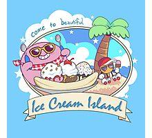Ice Cream Island Photographic Print