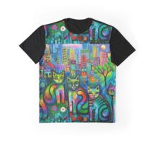 Out on the Town  Graphic T-Shirt