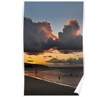Dominican sunset Poster