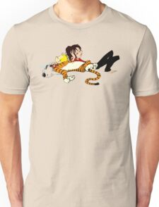 Calvin And Hobbes : Sleepy Time Unisex T-Shirt