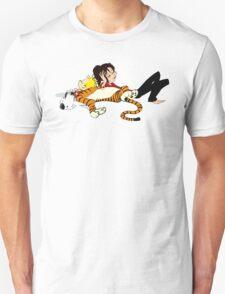 Calvin And Hobbes : Sleepy Time Unisex T-Shirt