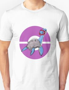 Lapras with Flower Crown T-Shirt